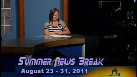 Thumbnail for entry NHCS Summer News Break-August 23, 2011