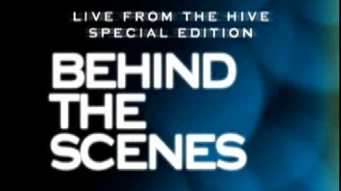 Thumbnail for entry Behind the Scenes of Live From The Hive