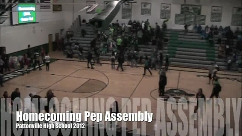 Thumbnail for entry Homecoming Pep Assembly 2012