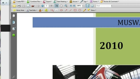 Thumbnail for entry Working with Pages in Acrobat