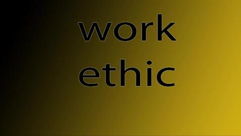 Thumbnail for entry Work Ethic - WSCN (Warren Acronym 2017/2018)