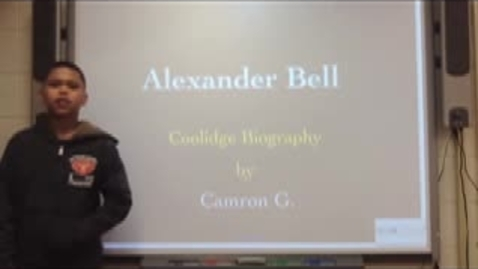 Thumbnail for entry Biography Presentations (2S part 2)
