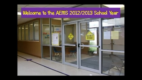 Thumbnail for entry Welcome to the 2012-2013 School Year!