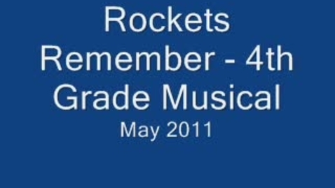 Thumbnail for entry Rockets Remember