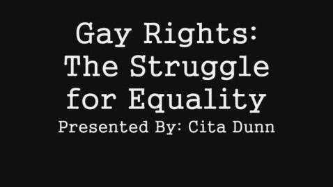 Thumbnail for entry AIJ: Gay Rights