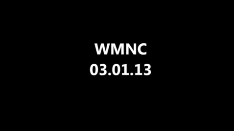 Thumbnail for entry WMNC 03.01.2013