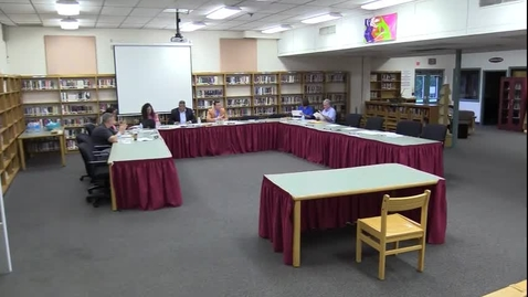 Thumbnail for entry Hackettstown Board of Education Meeting - August 17th, 2016