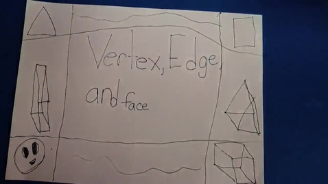 Thumbnail for entry Animated Math: Vertex, Edge, and Face