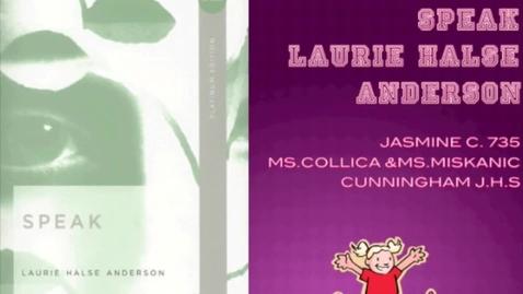 Thumbnail for entry Speak Jasmine 735