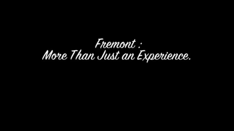 "Thumbnail for entry Documentary- ""Fremont,"" Knudson Middle School"