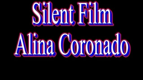 Thumbnail for entry Alina Silent Film