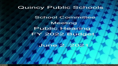 Thumbnail for entry FY 2022 Budget Public Hearing, Budget Joint Equity , Diversity, Inclusion, and Facilities, Transportation, and Security Subcommittees June 2