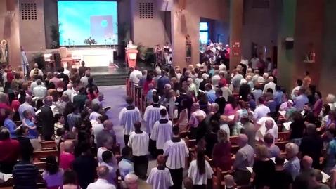 Thumbnail for entry St. Louis Parish - 1st Mass - Fr. Juan Benitez- 6/11/17