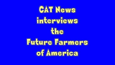 Thumbnail for entry FFA Interview-   NAtional Competition in Louisville, KY, 2013