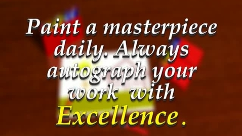 Thumbnail for entry Excellence in Education - February 2010