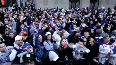 Thumbnail for entry New York Giants Parade