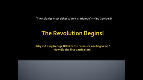 Thumbnail for entry First Continental Congress Mini-Lesson.webm