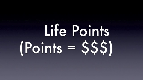Thumbnail for entry Life points