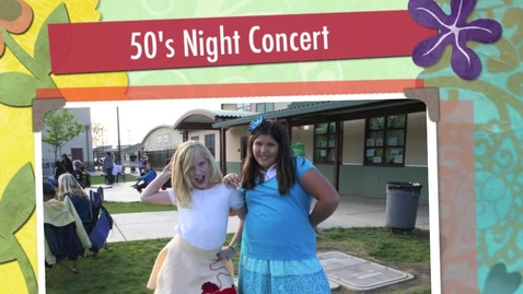 Thumbnail for entry 50's Night Concert