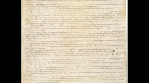 Thumbnail for entry United States Constitution Article 1 Section 4-6 Social Studies Middle School