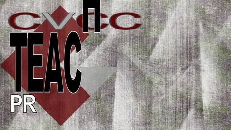 Thumbnail for entry CVCC Teaching Professions