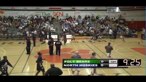 Thumbnail for entry Poly vs North Basketball