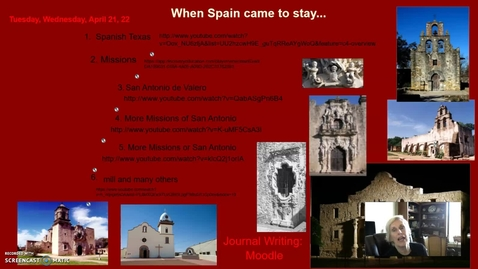 Thumbnail for entry Spanish Missions, Day 2