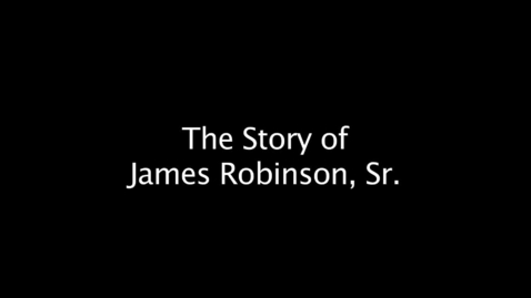 Thumbnail for entry Story of James Robinson- 7:26 Battle of First Manassas (1861/2011)