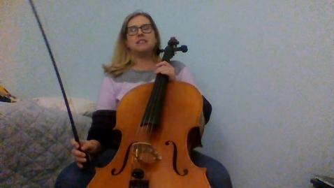 Thumbnail for entry Cello GR 6 Jingle Bells; Lightly Row; Boil Them Cabbage; Dreidel