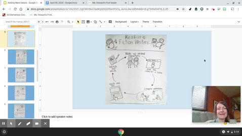Thumbnail for entry Writer's Think Like Readers and Add More Details