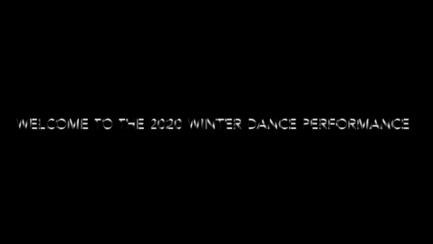 Thumbnail for entry 2020 Nature Speaks Winter Dance Performance