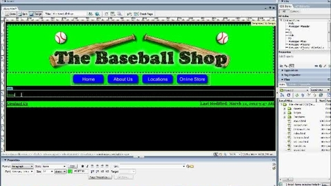 Thumbnail for entry Laying out your store