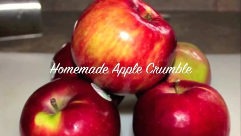 Thumbnail for entry Apple Crumble