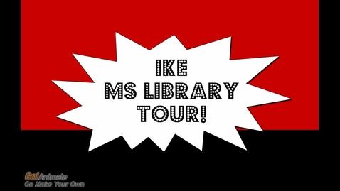 Thumbnail for entry Ike MS Libratory Tour