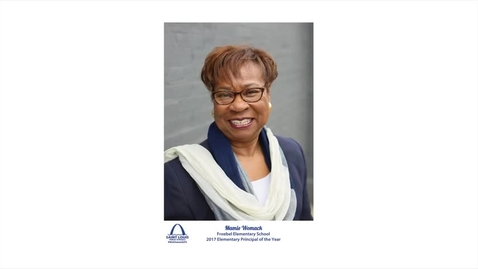 Thumbnail for entry SLPS Elementary Principal of the Year, Mamie Womack