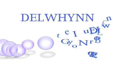 Thumbnail for entry Delwhynn