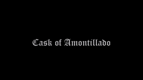 Thumbnail for entry Cask of Amontillado