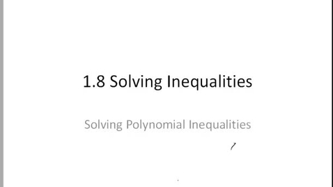 Thumbnail for entry 1.8 polynomial inequalities