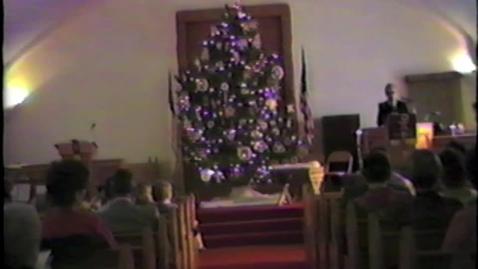 Thumbnail for entry 1985 Methodist Church Program