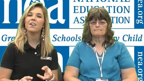 Thumbnail for entry NEA Convention: Kathy Adams