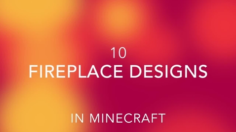 Thumbnail for entry Ten Fireplace Designs in Minecraft