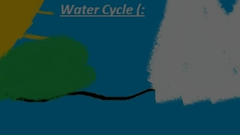 Thumbnail for entry The Water cycle