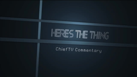 Thumbnail for entry ChiefTV Commentary - Restrooms - Levi