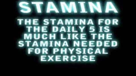 Thumbnail for entry Stamina