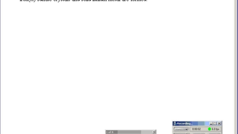Thumbnail for entry Stephens Pre-AP Chemistry: Reaction Review post-Spring Break