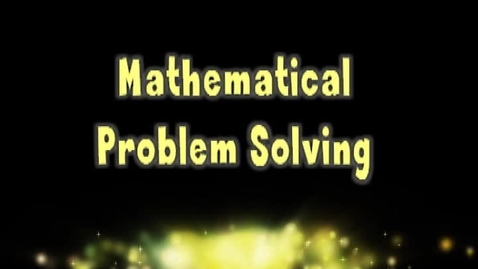 Thumbnail for entry Mathematical Operations