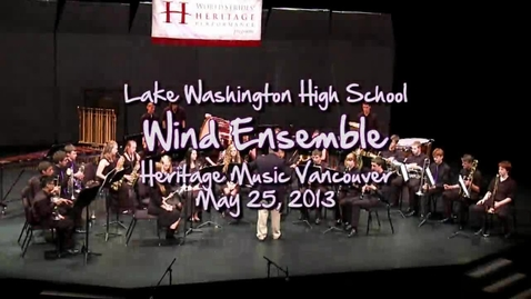 Thumbnail for entry LW Wind Ensemble: On A Hymnsong of Phillip Bliss