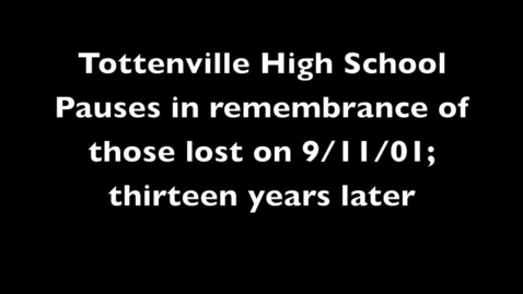 Thumbnail for entry Tottenville High School remembers 9/11