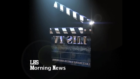 Thumbnail for entry LHS News Morning Announcements 8-30-12