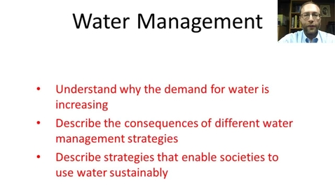 Thumbnail for entry Water Management